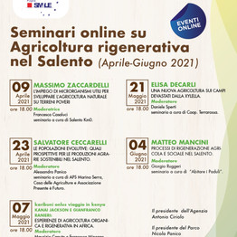 Sistemi agroforestali nei processi di rigenerazione agricola e sociale nel Salento-seminario online