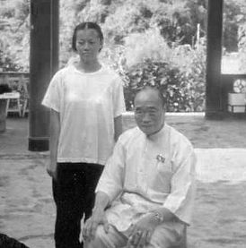 Master Huang Sheng Shyan and Yoke Chin