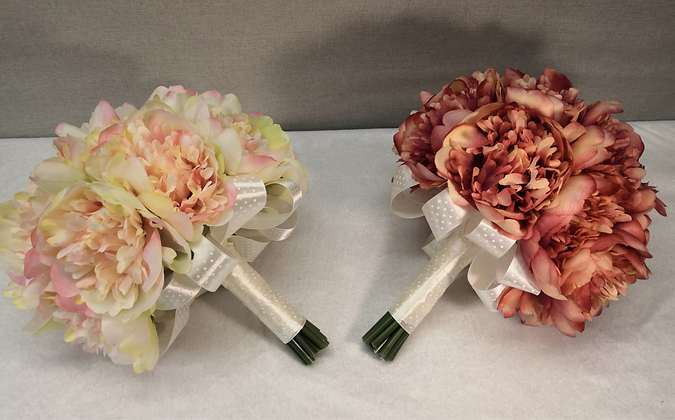 Hääkimppu Peony bouquet
