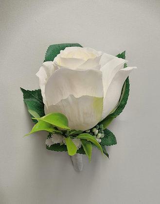 Viehe ruusu valkoinen