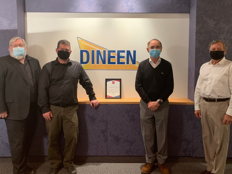 Dineen Construction, welcome to the League of Champions!