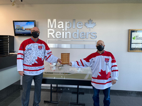 The LOC is pleased to congratulate our member, Maple Reinders