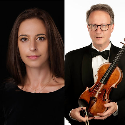 Violin and piano duo: Gabriel Schaff, violin, Anna Keiserman, piano