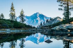 Placid Morning In Shasta