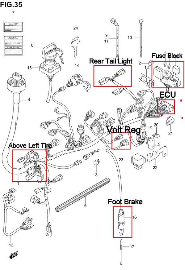 Quad Screen Wiring Diagram Quad Parts Diagram Quad Seats Quad