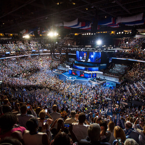 Democratic National Convention in Philadelphia - July 2016