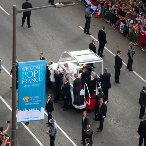Pope Francis in Philadelphia - September 2015