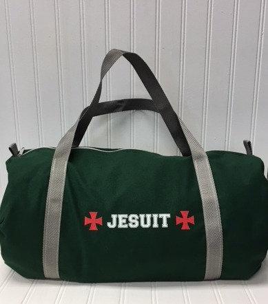 Jesuit duffel bag
