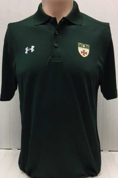 UA green polo
