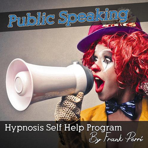 Public Speaking Hypnosis CD