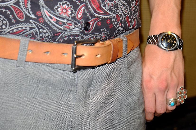 Horsehide Belts