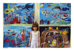 large scale paintings