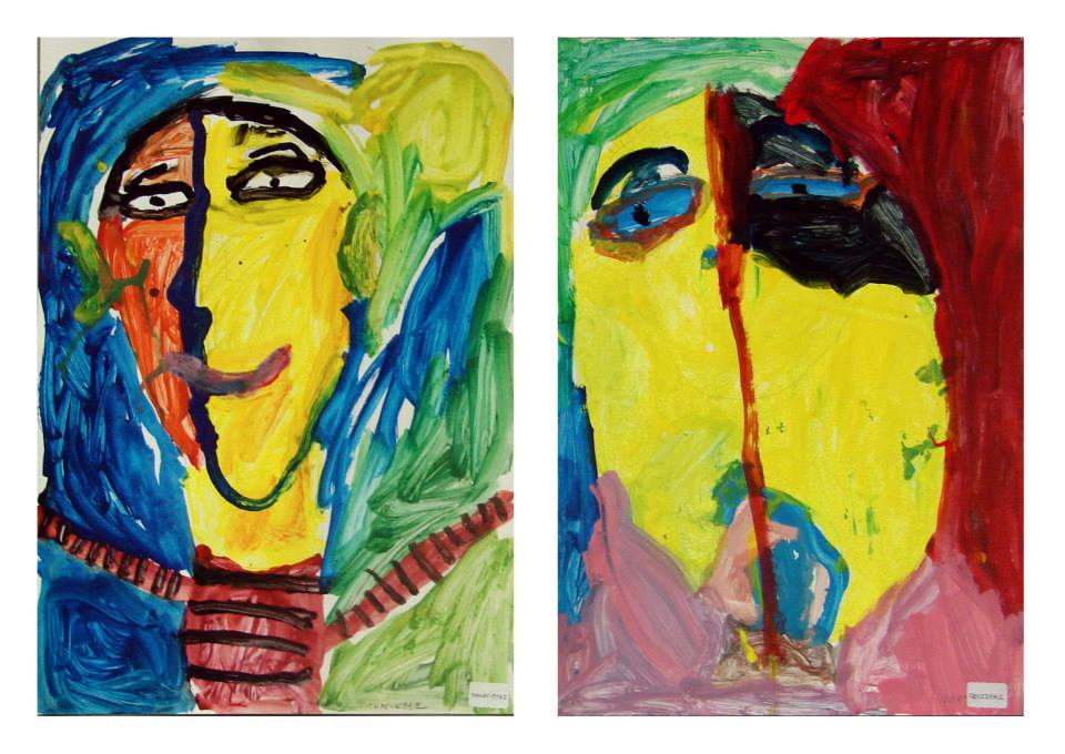 Picasso inspired portraits