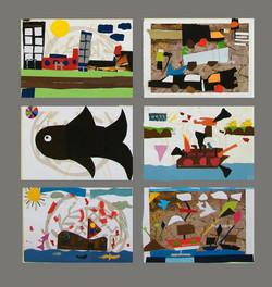 collage - c' grade