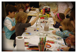 young artists in action