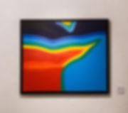JP Migneco - Chroma Terra - Abstract landscape topography 3D painting