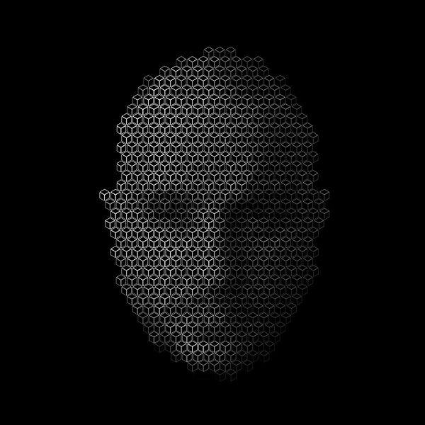 JP Migneco self portrait digital media drawing
