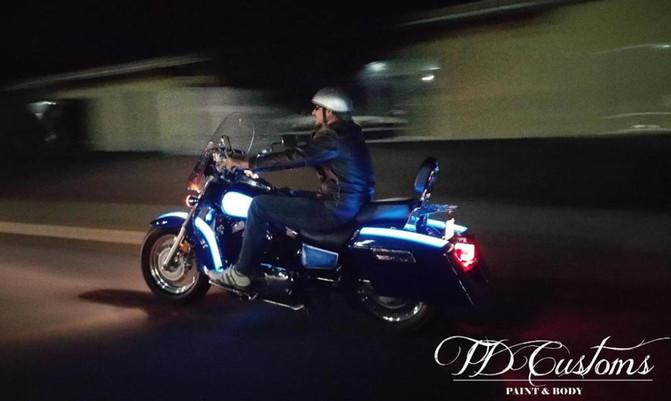 LumiLor Motorcycle by TD Customs