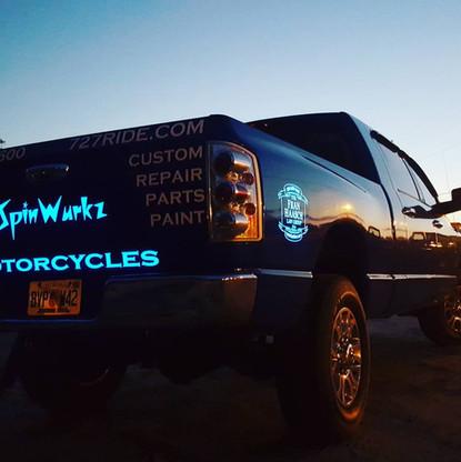 Spinwurkz Company Truck
