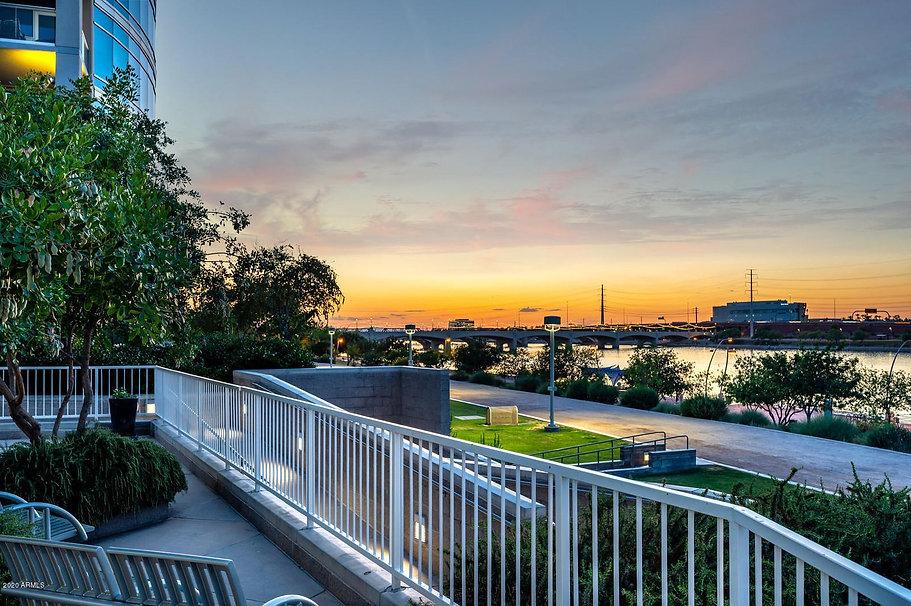 View of Tempe Town Lake From Bridgeview Condominium.jpg