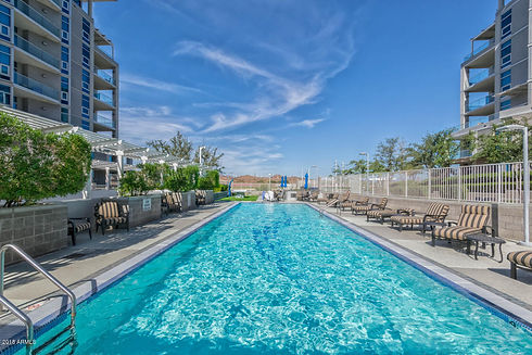 Community pool at Bridgeview Condominiums on Tempe Town Lake.jpg