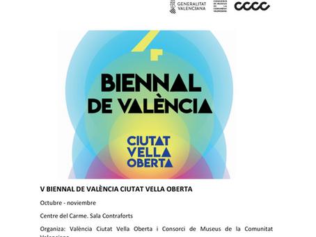 La V Biennal de València CVO ya se encuentra en la Programación 2021 del Centre del Carme