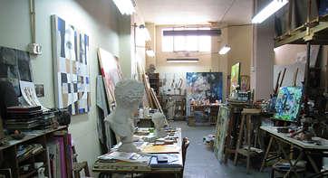 Talleres abiertos en el Circuito del Arte de la Bienal de Valencia
