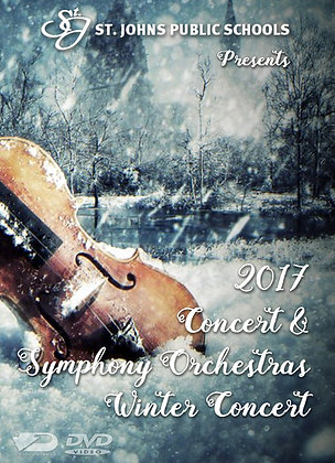 2017 SJHS Orchestras DVD Package
