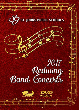 2017 SJHS Band Concerts DVD Package