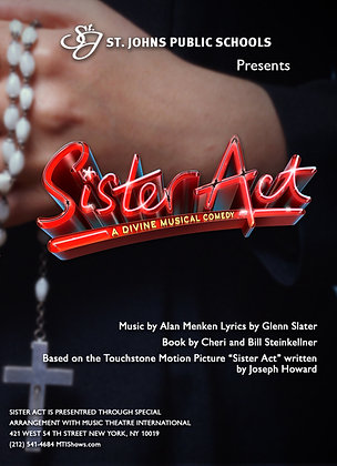 """2016 SJHS Theater """"Sister Act"""""""