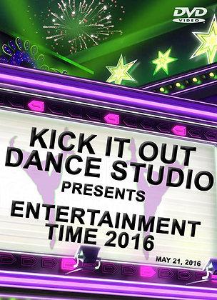 2016 Kick It Out Dance Recital DVD Package