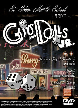 "2016 SJMS Theater ""Guys and Dolls Jr."""