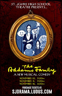 """2017 SJHS Theater """"Addams Family"""""""