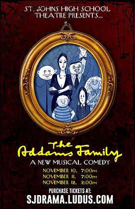 "2017 SJHS Theater ""Addams Family"""