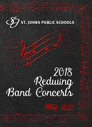 2018 SJHS Band Concerts DVD Package