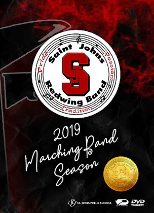 2019 SJHS Marching Band DVD Package