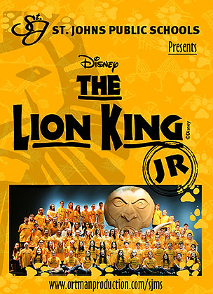 "2017 SJMS Theater ""The Lion King Jr."""