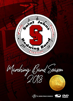 2018 SJHS Marching Band DVD Package