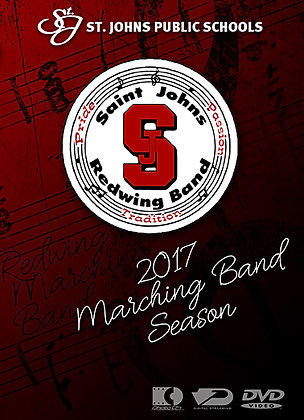 2017 SJHS Marching Band DVD Package