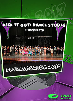 2017 Kick It Out Dance Recital DVD Package