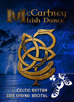 2019 McCartney Irish Dance Recital DVD Package