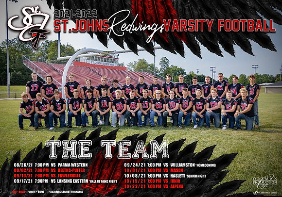 Special Team Poster (Varsity Only)