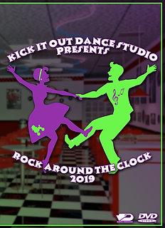 2019 Kick It Out Dance Recital DVD Package