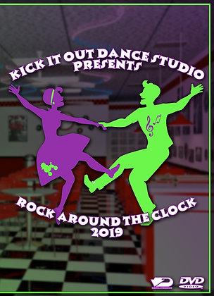 2019 Kick It Out Dance Recital DVD Package