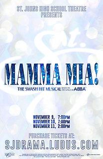 "2018 SJHS Theater ""Mamma Mia"""
