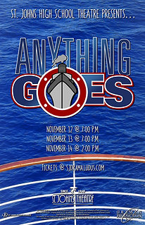"""2021 SJHS Theater """"Anything Goes"""""""