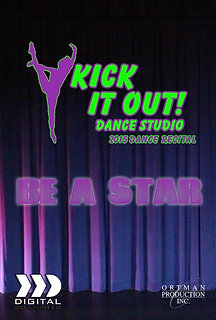 2015 Kick It Out Dance Recital DVD Package