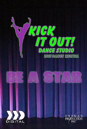 2015 Kick It Out Dance Recital DVD Package