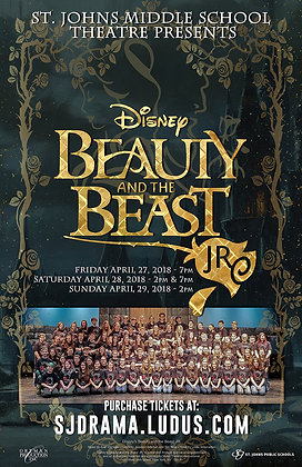 """2018 SJMS Theater """"Beauty and the Beast Jr."""""""