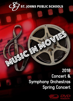 2018 SJHS Orchestras DVD Package